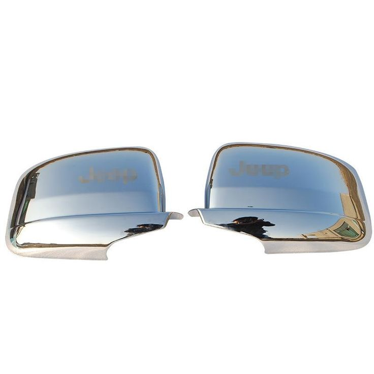 [Visit to Buy] ABS Silver Chrome Rearview Mirror Cover Kits for 2011 2012 2013 Jeep Grand Cherokee Rear Door Mirror Cover 2 PCS Free Shipping #Advertisement