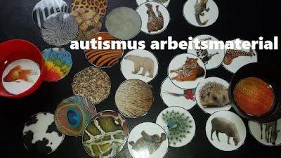 Autismus Arbeitsmaterial: Tier und Fell