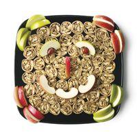 Great ideas for Kid Platters: Fruit 'n Nut Platter (Flatbread w/ cream ...