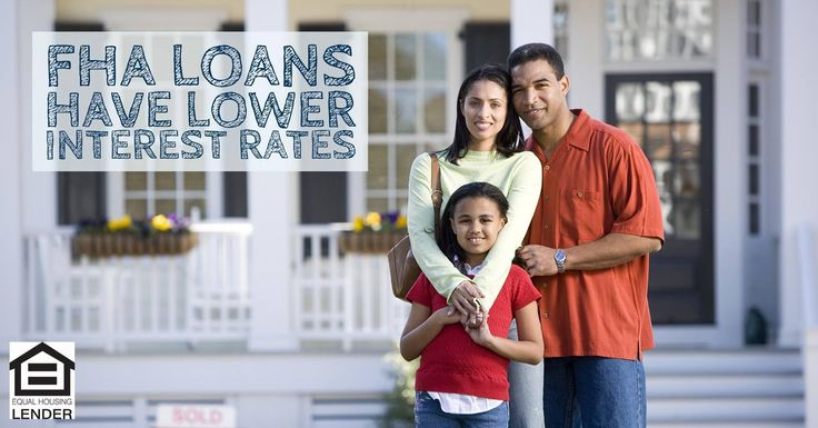 In addition to lower down payments, FHA loans usually will have lower interest rates as well.  Find out loan program is right for you by calling us this week!