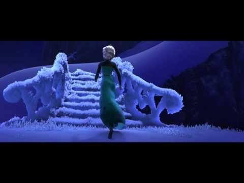 Frozen cancion Libre soy español latino HD - YouTube