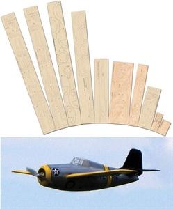 Show details for Grumman F4F Wildcat Laser Cut Wood pack