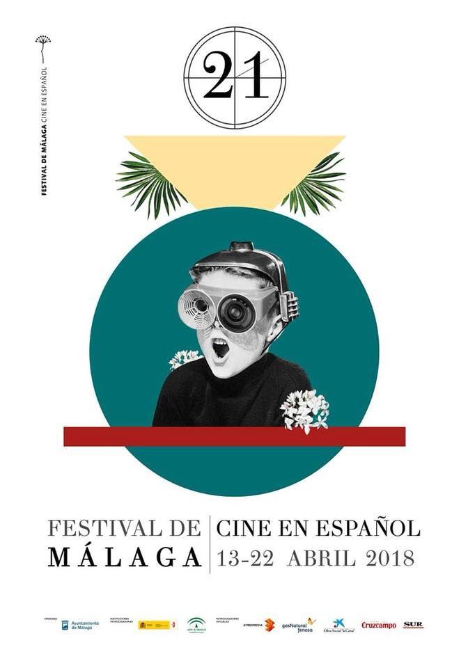 Cartel Festival de Malaga Cine en Español 2018