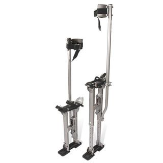 Pentagon Tool Professional 24 Inch to 40 Inch Aluminum Drywall Stilts - Free Shipping Today - Overstock.com - 18610943 - Mobile