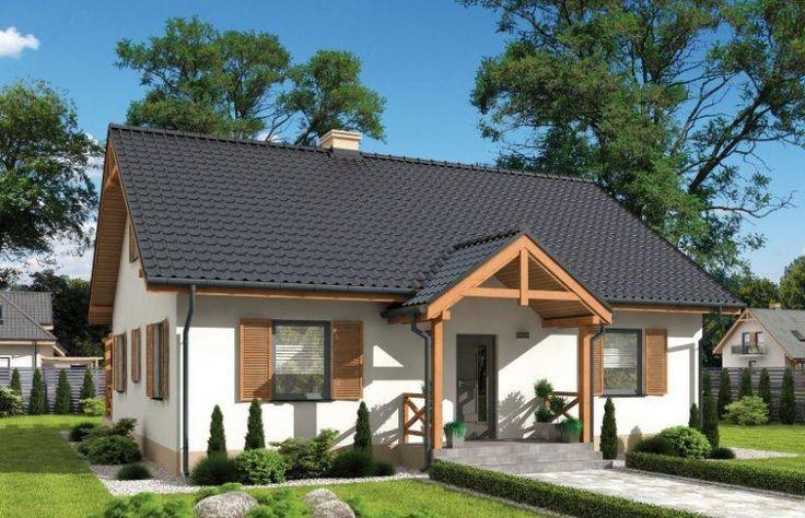 Projekt domu z poddaszem OLIMPIA