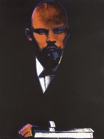 """Энди Уорхол  """"Ленин""""  1987"""