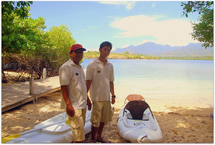 Kayak is ready for you. Ready to experience the mangrove?