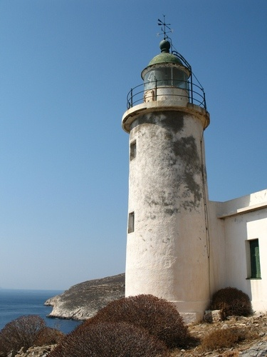 Aspropounta Lighthouse, Folegandros, Greece