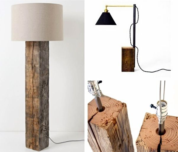 Lamp ideas for the bungalows and concrete rooms