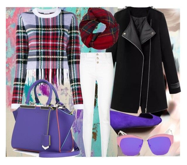 Do Purple!!  Look #4 by azanian-roots on Polyvore   featuring polyvore fashion style Chloé Fendi Fevrie