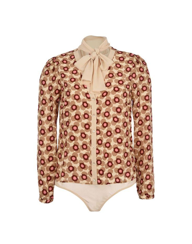 PATRIZIA PEPE Рубашки и блузки с бантом