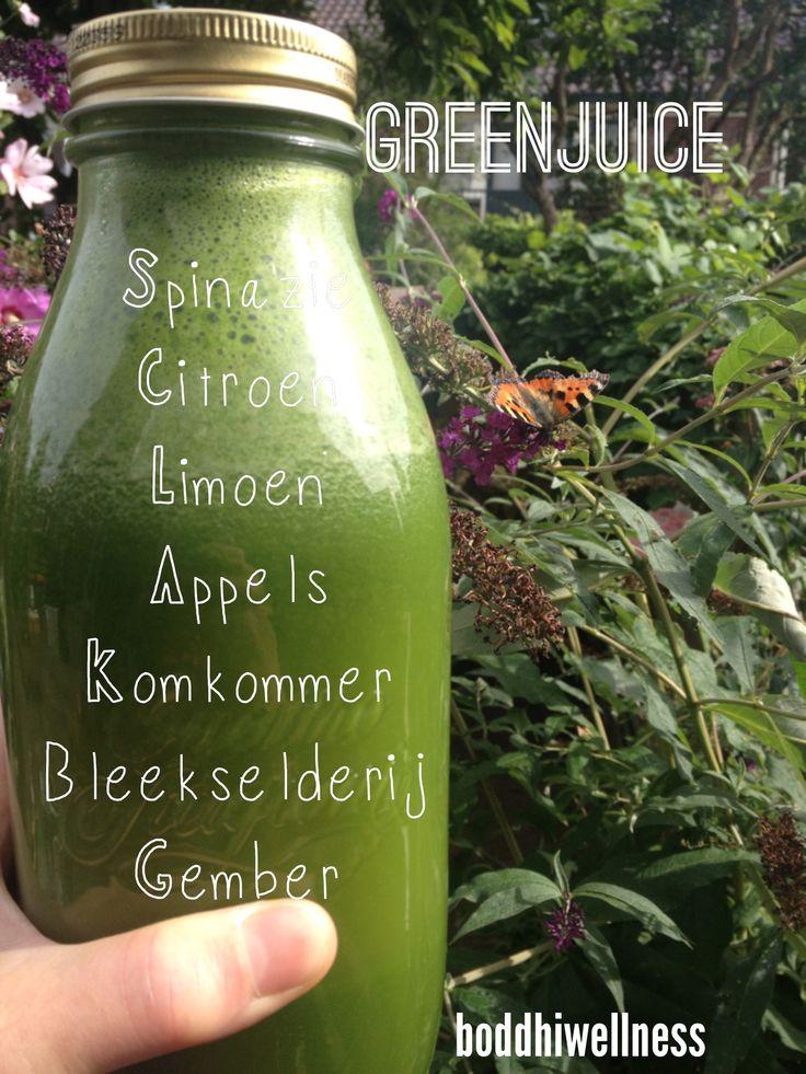 Groen(t)esap! Fris en gezond!