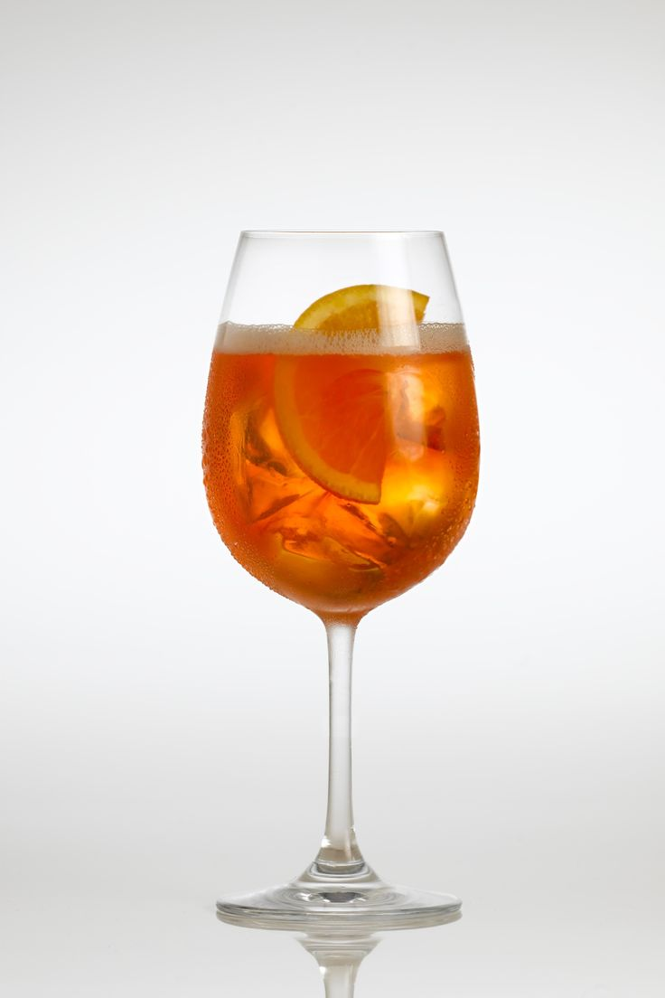 Aperol Spritz one of my favorite things to have at a cafe in italy