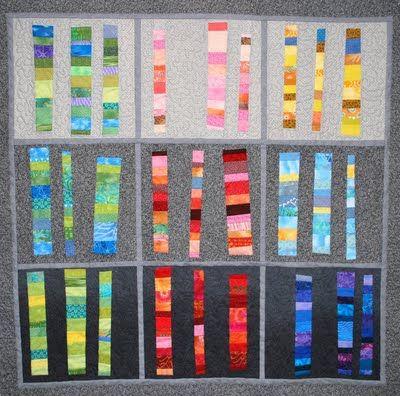 Quiltworks by Sue Pedersen, 'Quilter's Karyotype'