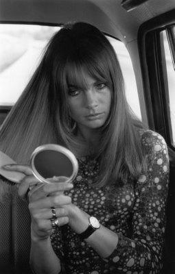 Jean Shrimpton. 1966