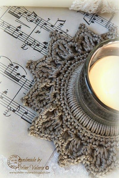 Atelier Valerie: Christmas Candle Ring Tutorial