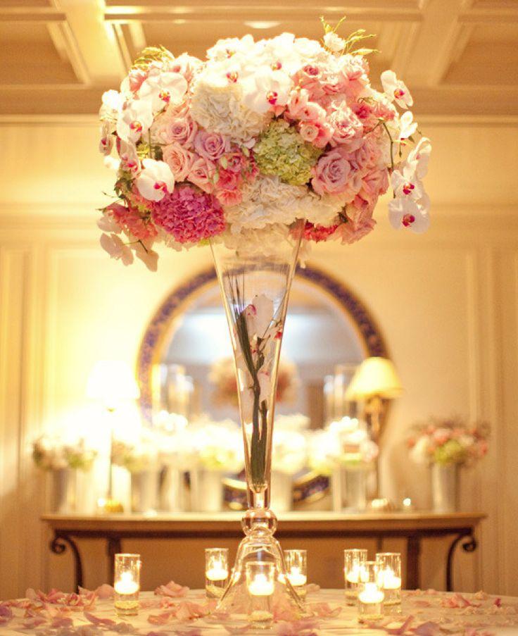 Stunning Floral Wedding Centerpieces