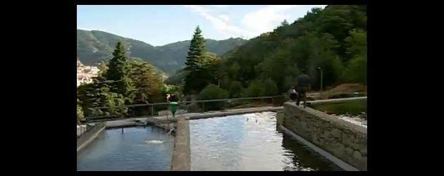 Parque de pesca na ilha da Madeira