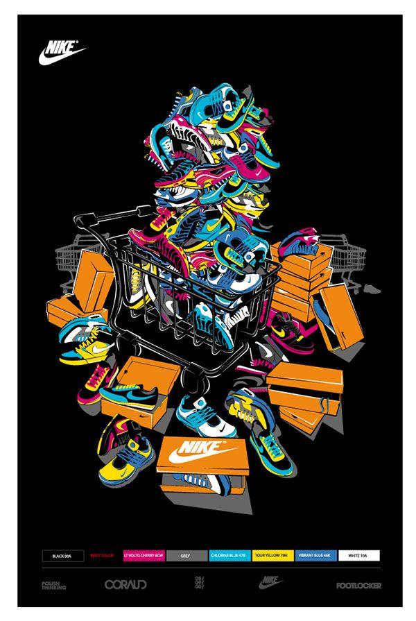 Nike T Shirts Projects Footlocker On Behance Nike Wallpaper Nike Art Jordan Logo Wallpaper Beautiful cool dope wallpaper for