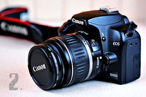 It was Canon 1000D (in US known as Rebel XS).