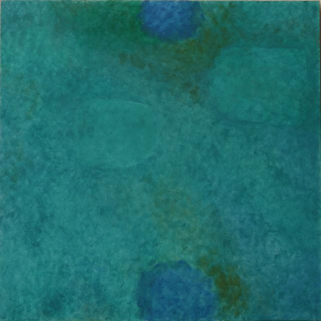 Françoise Sullivan, Ocean Nu.16, 2005, acrylic on canvas, 60x60in © Courtesy Corkin Gallery