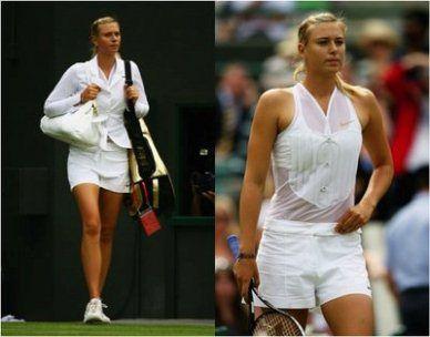 Maria Sharapova's Wimbledon 2008 outfit