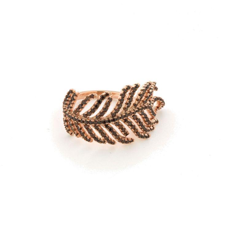Δαχτυλίδι Verita True Luxury Aπό Ασήμι Rose Gold