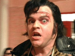 Meat Loaf as Eddie in The Rocky Horror Picture Show
