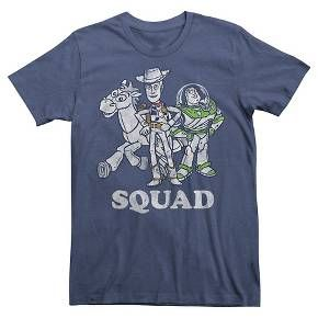 Disney® Men's Toy Story Squad T-Shirt Navy S : Target