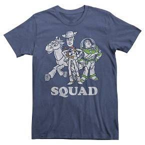 Disney® Men's Toy Story Squad T-Shirt Navy : Target