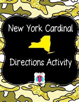 This is a set of maps and locations for students to use to work on cardinal directions and to get to know the locations of places within the state.  They also alphabetize the locations.
