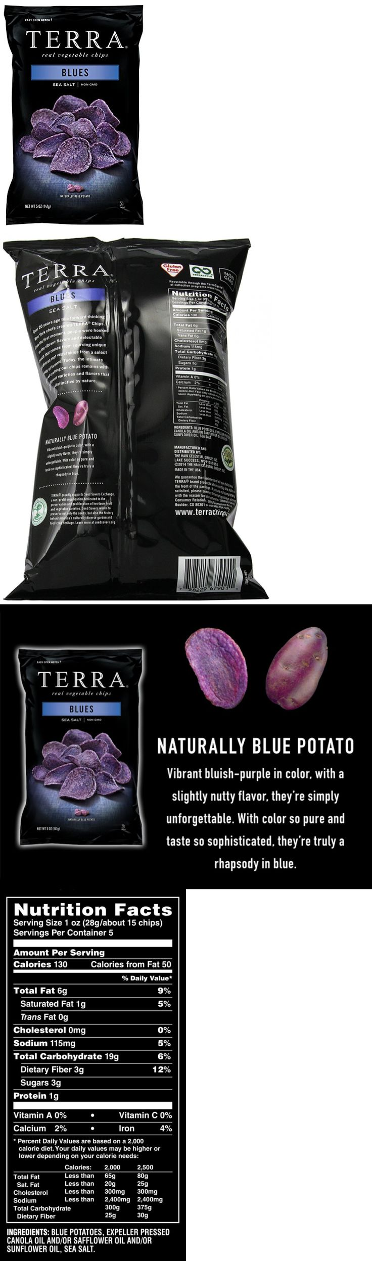Chips 179179: Terra Blues, Sea Salt, 5 Ounce (Pack Of 12) -> BUY IT NOW ONLY: $75.99 on eBay!