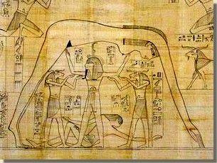 De scheppingsmythe van Heliopolis. Papyrus Greenfield, British Museum, Londen. In het oude Egypte waren er diverse scheppingsverhalen over hoe de wereld ontstaan zou zijn. Zo waren er onder andere de Heliopolitaanse, de Hermopolitaanse en de Memfitische scheppingsmythes. De stad Heliopolis was het belangrijkste centrum van de verering van de zon. Lees het volledige artikel op Kemet.nl