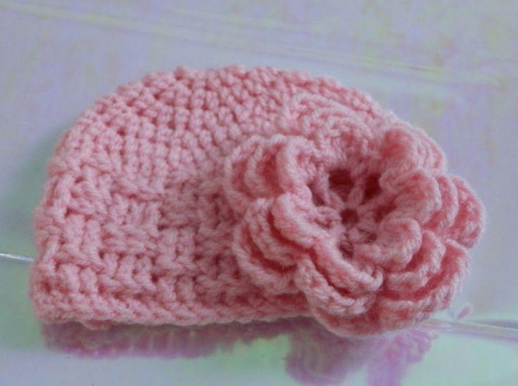 Free Crochet Patterns For Baby Flower Headbands : 17 best images about sombreros on Pinterest Fleece hat ...