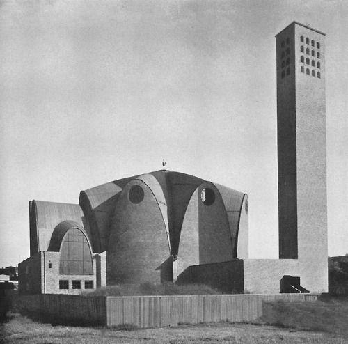 Church St Engelbert (1930-32) in Cologne, Germany, by Dominikus Böhm