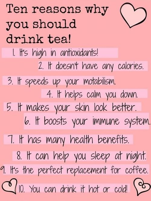 As if you need anymore reasons to drink tea! #welovetea #pahaditea https://www.pahaditea.com/18-by-type.html
