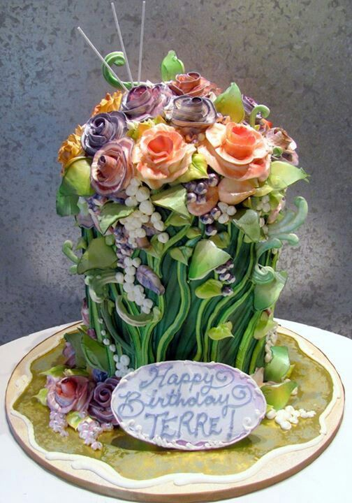 Rosebud Cakes, beautiful buttercream roses