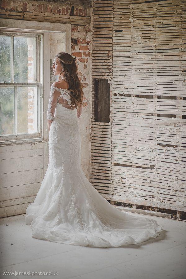 Bayfield Hall Norfolk wedding venue. Beautiful bride. www.jameskphoto.co.uk