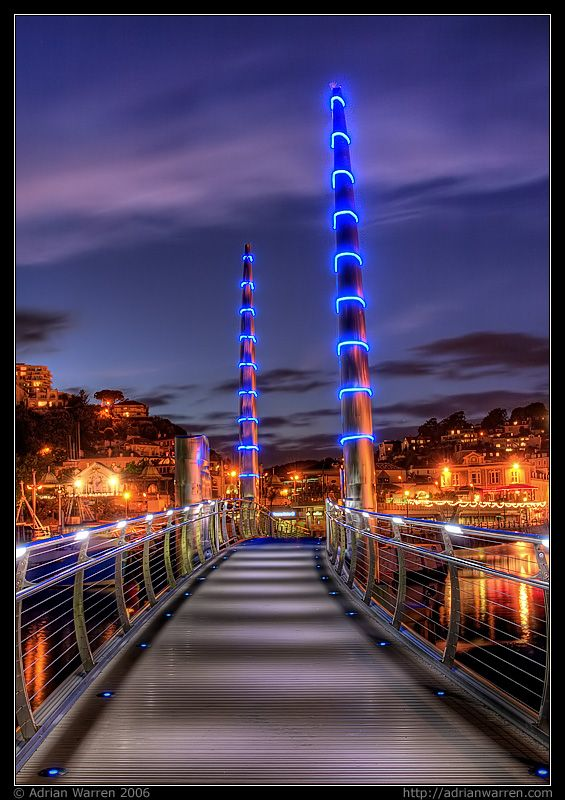 Torquay Harbour Bridge, Torquay, Devon, England Copyright: Adrian Warren