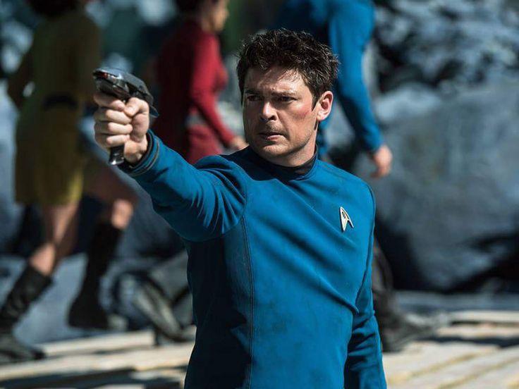 Star Trek Beyond, Bones. Great film, looking forward to DVD release date!