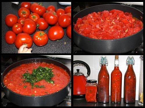 Homemade Sauces - links to spaghetti, cream, white, etc.