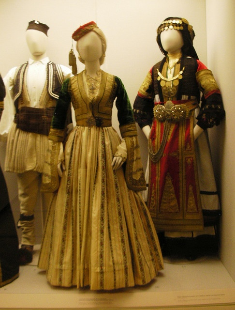 Folk Costumes, Benaki Museum, Athens, Greece