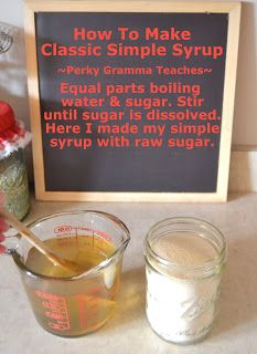Make the simple syrup as you normally would, and then just when you are done and removing the syrup from the heat, add whatever flavor you want (basil .