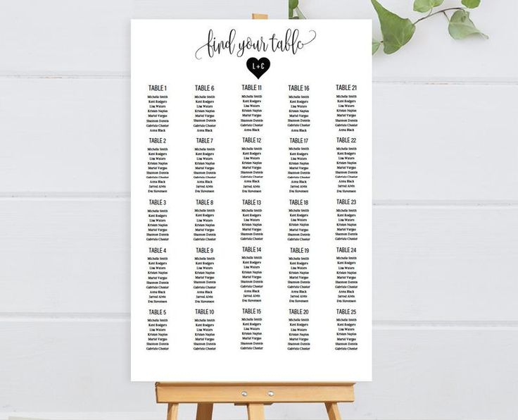 21 best Wedding Seating Chart images on Pinterest Wedding - free printable seating chart