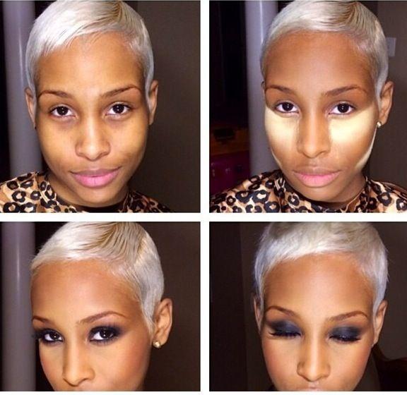 Makeup For Beginners Black Skin Cosmeticstutor Org