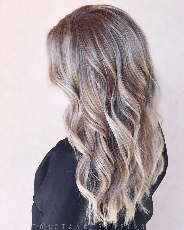 Winter blonde ❄️ #constancerobbins #blonde #balayage