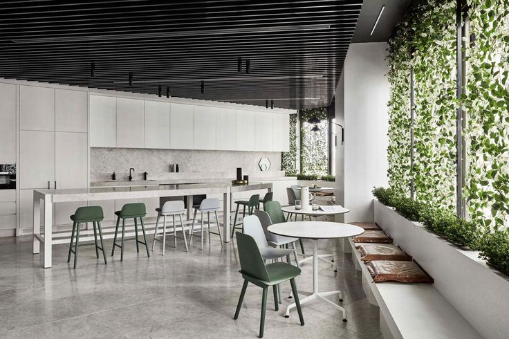 PDG Melbourne Head Office by Studio Tate | Cantine area