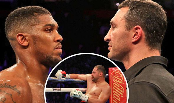 Anthony Joshua retains IBF world heavyweight title with clinical knockout of Eric Molina