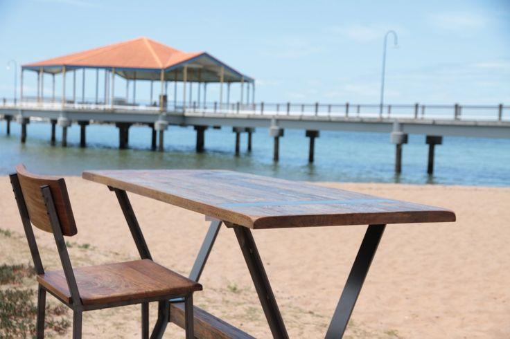 Brace Bar Table