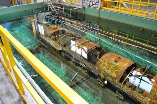 Css Hunley Submarine | Hunley Submarine: Hunley Submerged ...